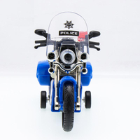 Police Motorcycles Zinc Alloy Mini Model Car Sound&light Pull Back Boys Playing Toys Vehicles toy