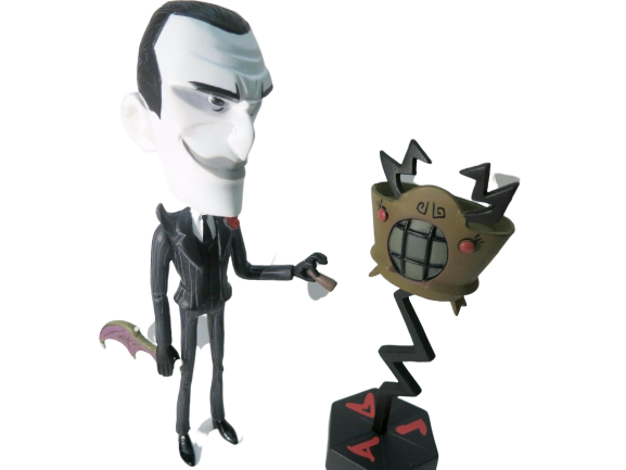 *CLEARANCE* Maxwell, Divining Rod & BatBat Don't Starve Blind Box Action Figure