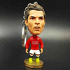 World Cup Custom PVC Soccer Player Mini Action Figure Keychains Wholesale
