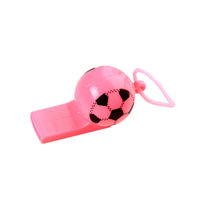 Plastic Toy Supplier Cheap Custom Soccer Whistle Toys Promotional Gift Plastic Football Whistle Small Toys