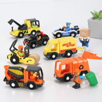 New Design Environmental ABS Plastic Vehicle Car Toys for Kids Ambulance Police Car