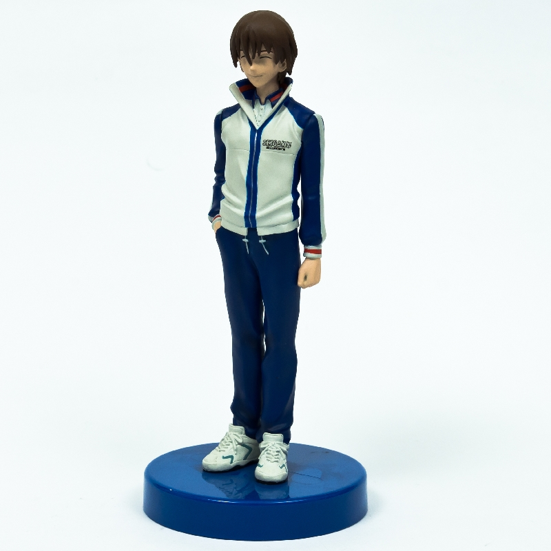 Custom Plastic Anime Figurine, Cartoon Realistic Plastic Anime Figure, OEM Cartoon Tennis Boy Plastic Anime Figure