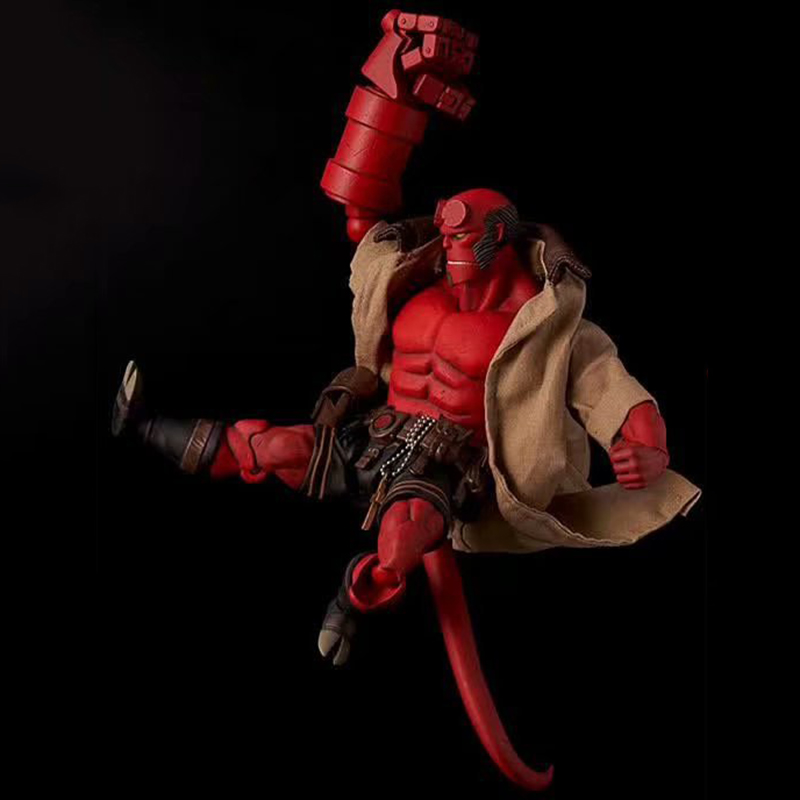 China Manufacture Plastic Material Hellboy Movie Characters Figurines Movie Toy Action Anime Figures