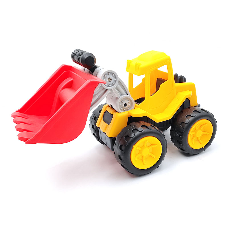 Make Your Own Design Cool Engineering Vehicle Kids Construction Mini Educatioanl Toy Truck for Kids