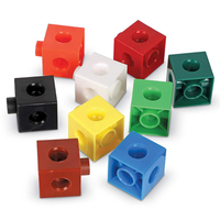 Baby Educational Toy Learning Tool Creative Intelligence Children Mathlink Cubes Graphic Connection Blocks 2X2X2cm