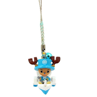 Customized Factory Made OEM 3D Lovely Luffy Keychain Anime Action Figure Keychain for Promotion