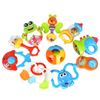 Hot Sale Cute Carton Animal Baby Toys Baby Rattle Toys Set with 10PCS for Sale