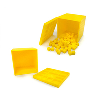 Colorful Plastic Block Math Learning Toy Opener Cubes Box