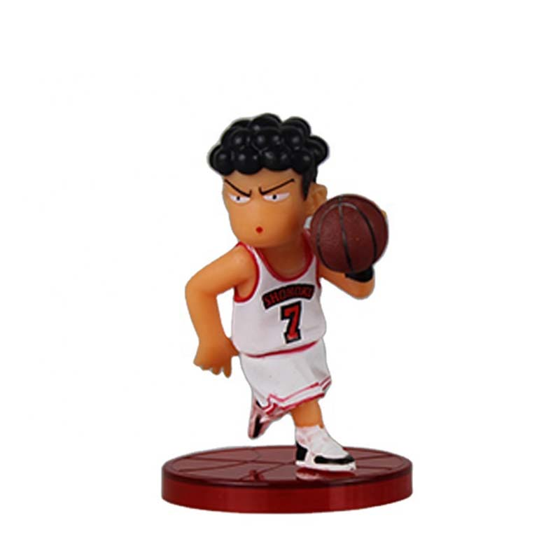 Custom One Piece Plastic PVC Material Japanese Famous Basketball Player Star Movie Character Anime Action Figure Toy
