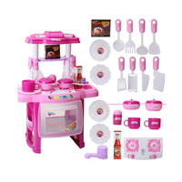 Funny Miniature Kids Toys Kitchen Set Pretend Play Food Children Toys Plastic Food for Toy Kitchen Kids Cooking Toy Set for Girl Game