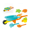 Wholesale Plastic Beach Toy Set with Sand Bucket Baby Sand Bucket Shovels Toys Summer Entertainment Game Play
