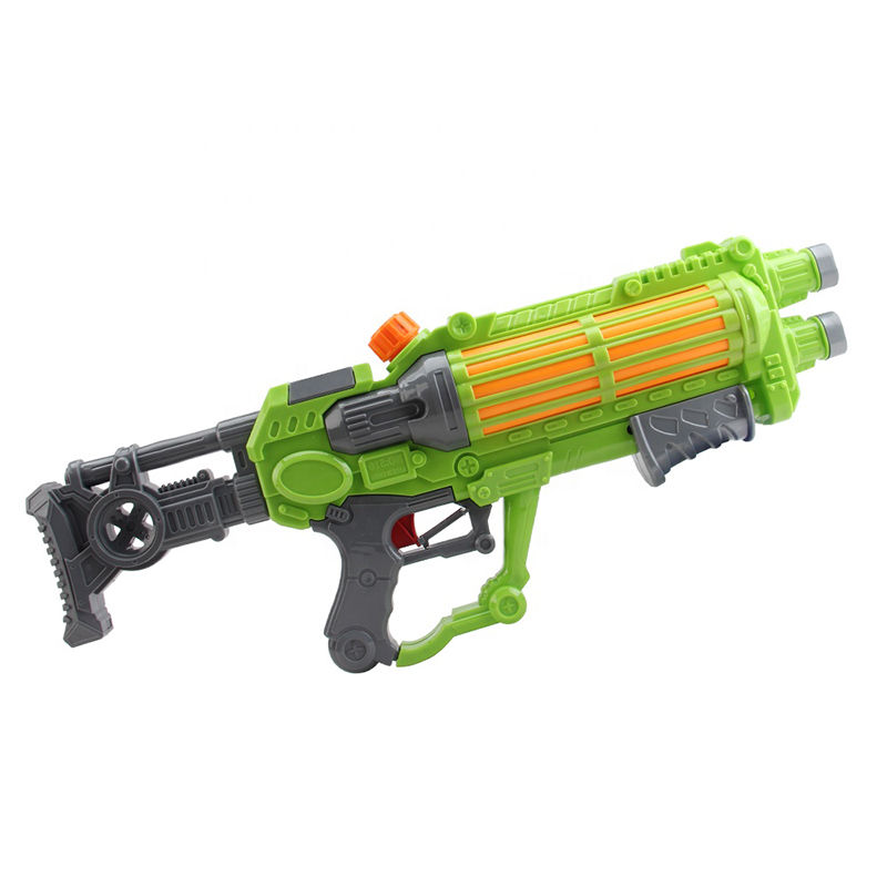 Custom Made Good Quality Summer Safe Interactive Games High Pressure Water Guns PVC Material