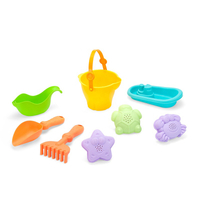 Happy Summer Entertainment Game Play Funny Summer Outdoor DIY Games Baby Sand Bucket Shovels Toys