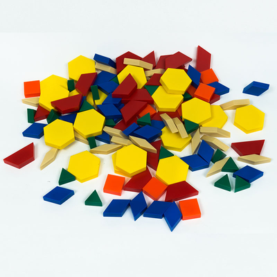 Educational Preschool Plastic Colorful Puzzle Game Toys for Kids