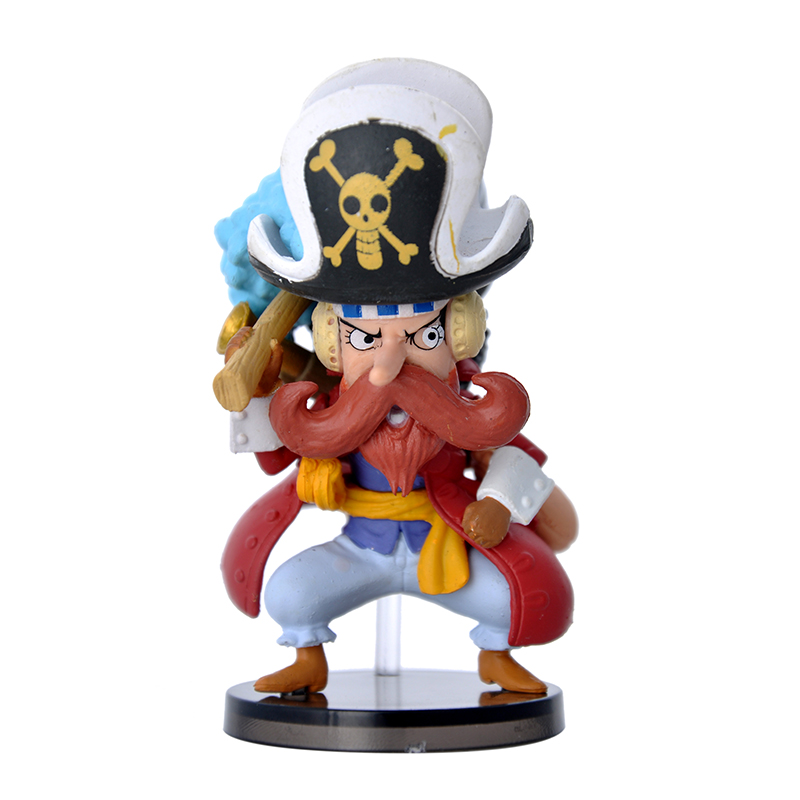 OEM/ODM 3D Japanese Classic Miniature Anime Action Figure Collectible Model Toys Dolls Action Figure One Piece Luffy for Kids