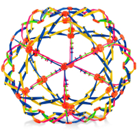 velty Multi Plastic Colored Expanding Magic Ball Toy Promotional Gifts