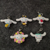 Plastic Animal Keychains /Colorful Plastic Key Ring Gift
